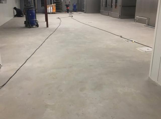 Acrylaatvloer - hittebestendige polyurethaancementvloer - 1