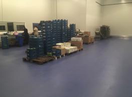 Nouveau sol industriel pour le groupe A. De Witte - 2