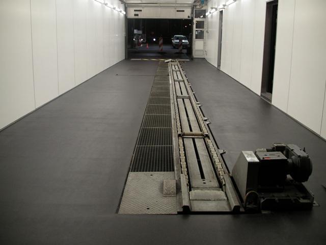 Sol de garage de Devafloor