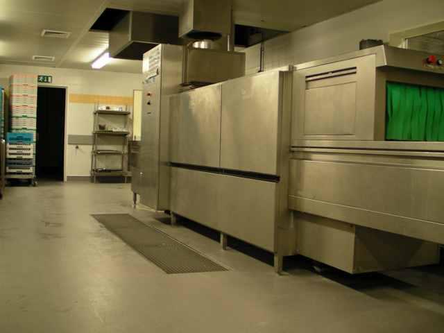Sol de cuisine de collectivité de Devafloor