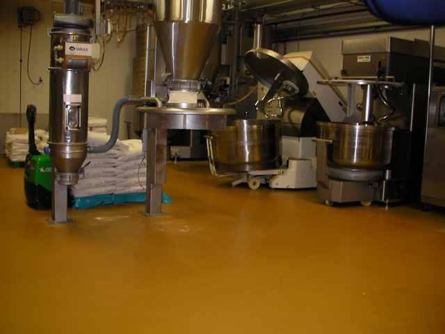 Sol de boulangerie de Devafloor