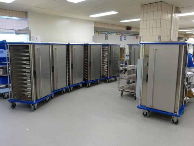 Devafloor gietvloer in medische sector: Grootkeuken Jessa Ziekenhuis